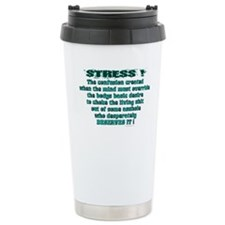 Cute Choke out Travel Mug