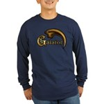 Galator Claw Long Sleeve Dark T-Shirt