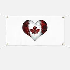 Canadian heart 2 Banner