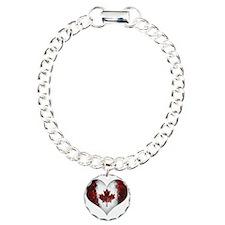 Canadian heart 2 Bracelet