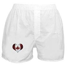 Canadian heart 2 Boxer Shorts