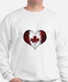 Canadian heart 2 Sweater