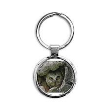 Saw-whet Owl 2 Round Keychain