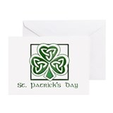 St patrick day Greeting Cards (10 Pack)