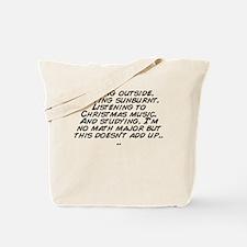 Cute Add it up Tote Bag