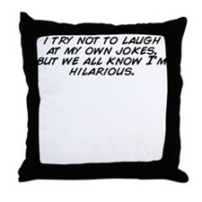 Cool Know Throw Pillow