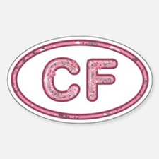 CF Pink Decal