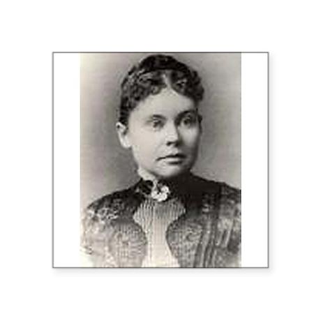 Classic Lizzie Borden, circa 1890 Sticker
