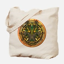 Reed Celtic Greenman Pentacle Tote Bag