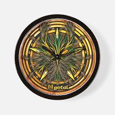 Reed Celtic Greenman Pentacle Wall Clock
