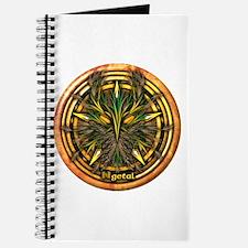Reed Celtic Greenman Pentacle Journal