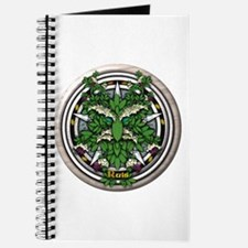 Elder Celtic Greenman Pentacle Journal