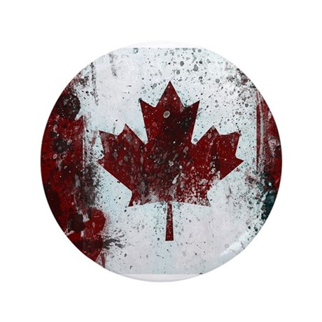 """Canadian Poster 1 3.5"""" Button"""