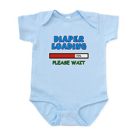 Diaper Loading, please wait Infant Bodysuit