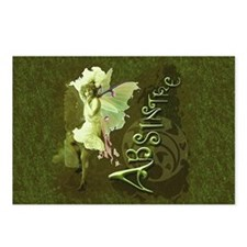 Absinthe Collage Postcards (Package of 8)