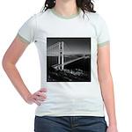 GG Bridge from Battery Spencer Jr. Ringer T-Shirt