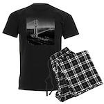 GG Bridge from Battery Spencer Men's Dark Pajamas