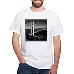 GG Bridge from Battery Spencer White T-Shirt