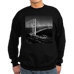 GG Bridge from Battery Spencer Sweatshirt (dark)