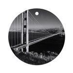 GG Bridge from Battery Spencer Ornament (Round)