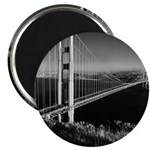 GG Bridge from Battery Spencer Magnet