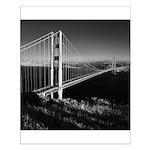 GG Bridge from Battery Spencer Small Poster