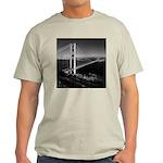 GG Bridge from Battery Spencer Light T-Shirt