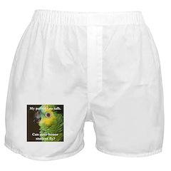 Blue-fronted Amazon Boxer Shorts