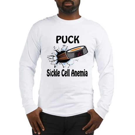 Puck Sickle Cell Anemia Long Sleeve T-Shirt