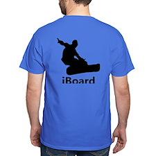 iBoard Snowboarding T-Shirt