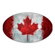 Canadian Abstract Poster Decal