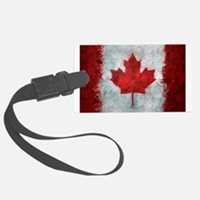 Canadian Abstract Poster Luggage Tag