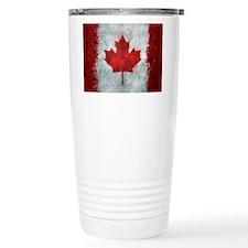 Canadian Abstract Poster Travel Mug