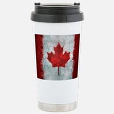 Canadian Abstract Poster Travel Mug
