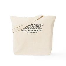 Unique Life balance Tote Bag