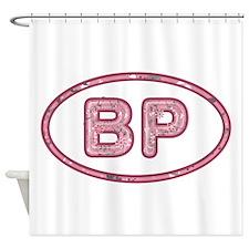 BP Pink Shower Curtain