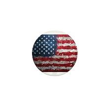 American grunge poster Mini Button
