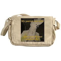 Umbrella Cockatoo - Ruth Messenger Bag