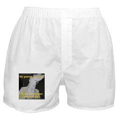 Umbrella Cockatoo - Ruth Boxer Shorts