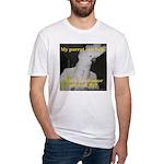 Umbrella Cockatoo - Ruth Fitted T-Shirt