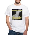 Umbrella Cockatoo - Ruth White T-Shirt