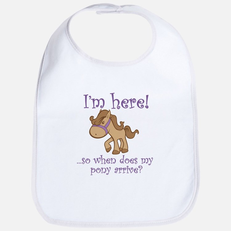 Cute Pony Bib