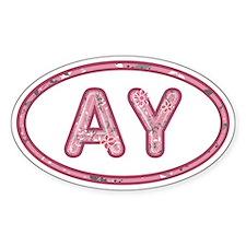 AY Pink Decal
