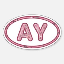 AY Pink Sticker (Oval)