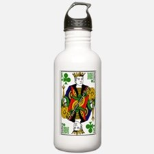 King of Clubs Water Bottle