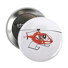 "Helicopter Chopper Retro 2.25"" Button"
