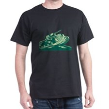 World War Two Battle Tank T-Shirt