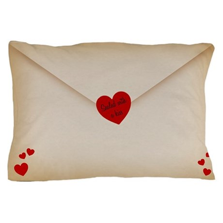 Sealed With A Kiss Pillow Case