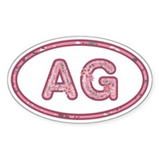 AG Pink Decal