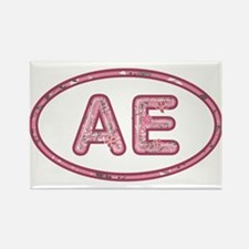 AE Pink Rectangle Magnet